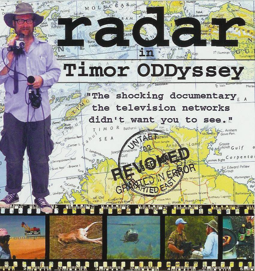 Te radar's Timor ODDyssey Poster